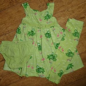 Gymboree Palm Beach Paradise 3 Piece Outfit